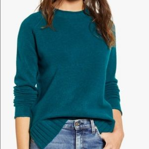 Nordstrom Teal Sweater Size XS